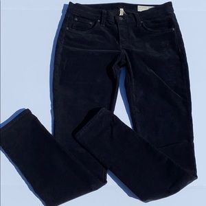 Rag & Bone black cord pants 26